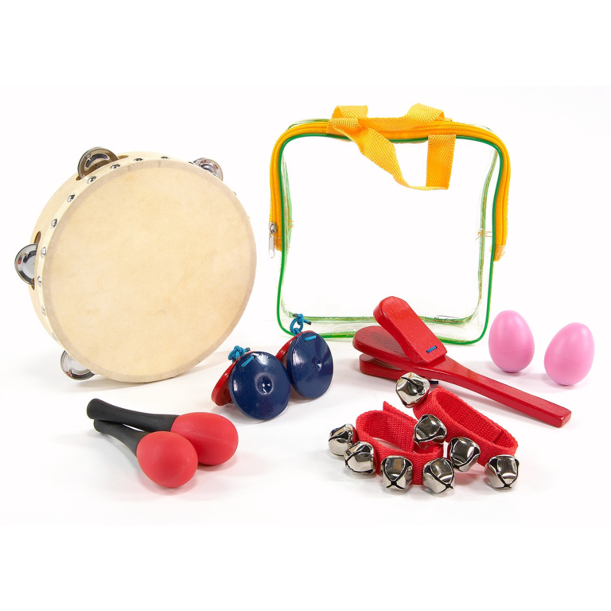 Image of 6 Piece Percussion Set with Carry Bag