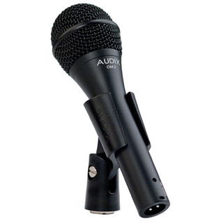 Audix OM2 Dynamic Vocal/Instrument Microphone in Clip