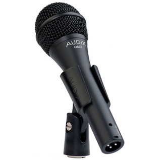 Audix OM3 Dynamic Vocal Microphone, Wide Response in Clip