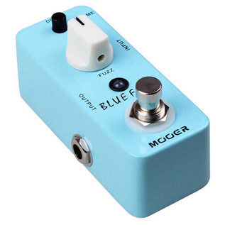 Mooer MFZ1 Blue Faze Fuzz Pedal with FREE Jack Patch Cables