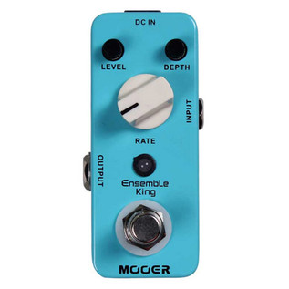Mooer MCH1 Ensemble King Analog Chorus Pedal FREE Jack Patch Cables