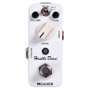 Mooer MDS2 Hustle Drive Distortion Pedal FREE Jack Patch Cables