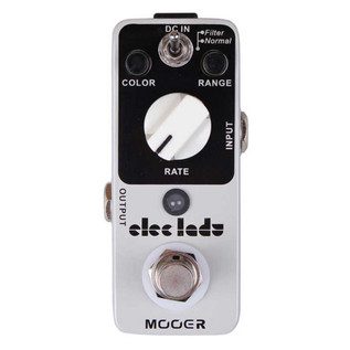 Mooer MFL1 Eleclady Analog Flanger Pedal FREE Jack Patch Cables