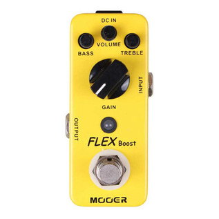 Mooer MBT1 Flex Boost Boost Pedal FREE Jack Patch Cable