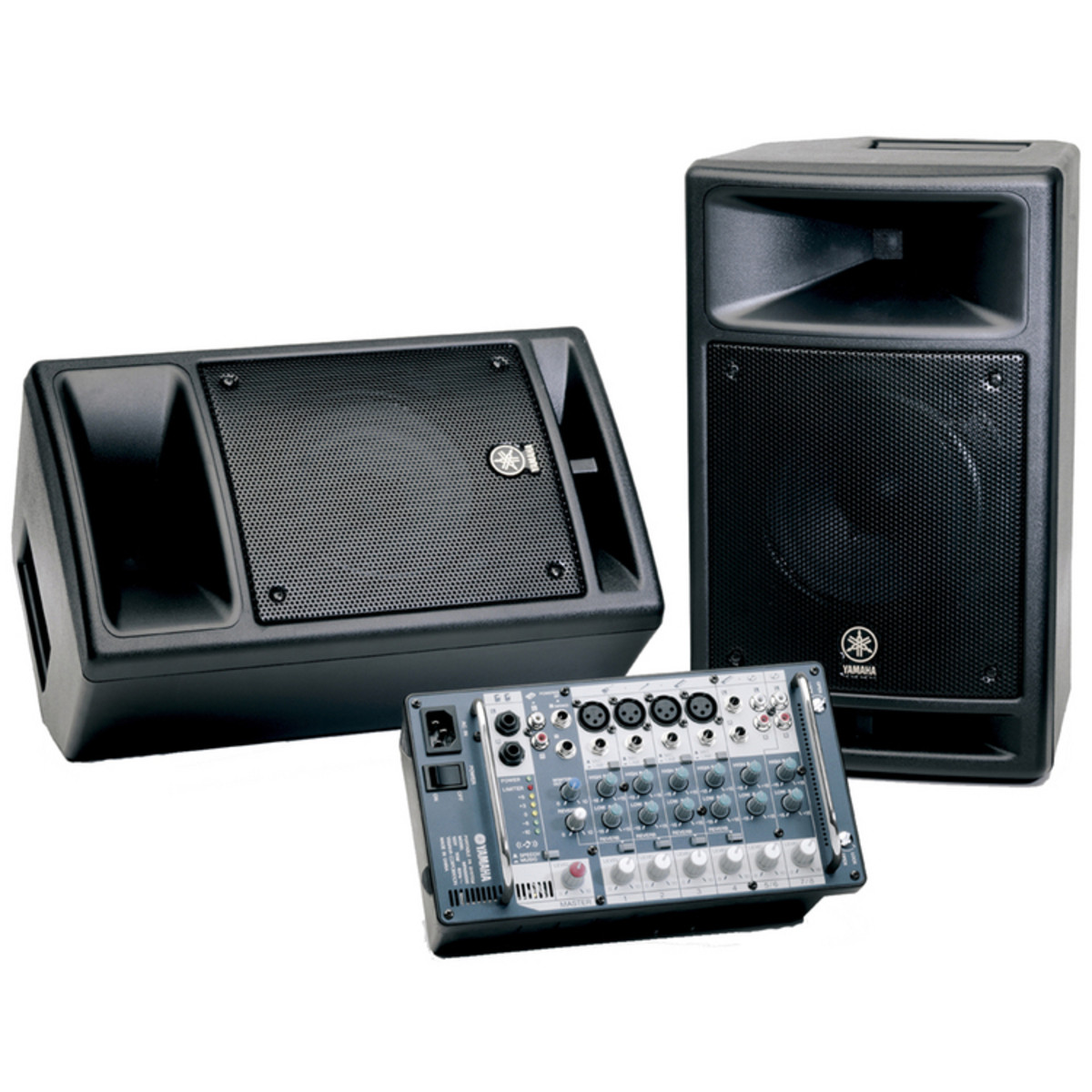 Yamaha stagepas 300 portable pa systeem op for Yamaha pa system