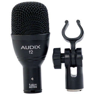 Audix F2 Dynamic Percussion Microphone with Clip