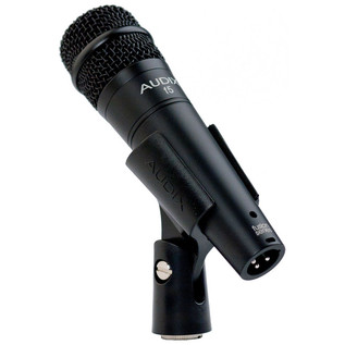 Audix F5 All-Purpose Dynamic Instrument Microphone in Clip