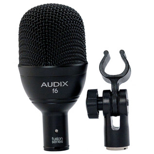 Audix F6 Kick Drum Dynamic Microphone with Clip