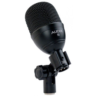 Audix F6 Kick Drum Dynamic Microphone in Clip