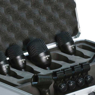 Audix FP5 Drum Microphone Pack, 5 Pieces Detail
