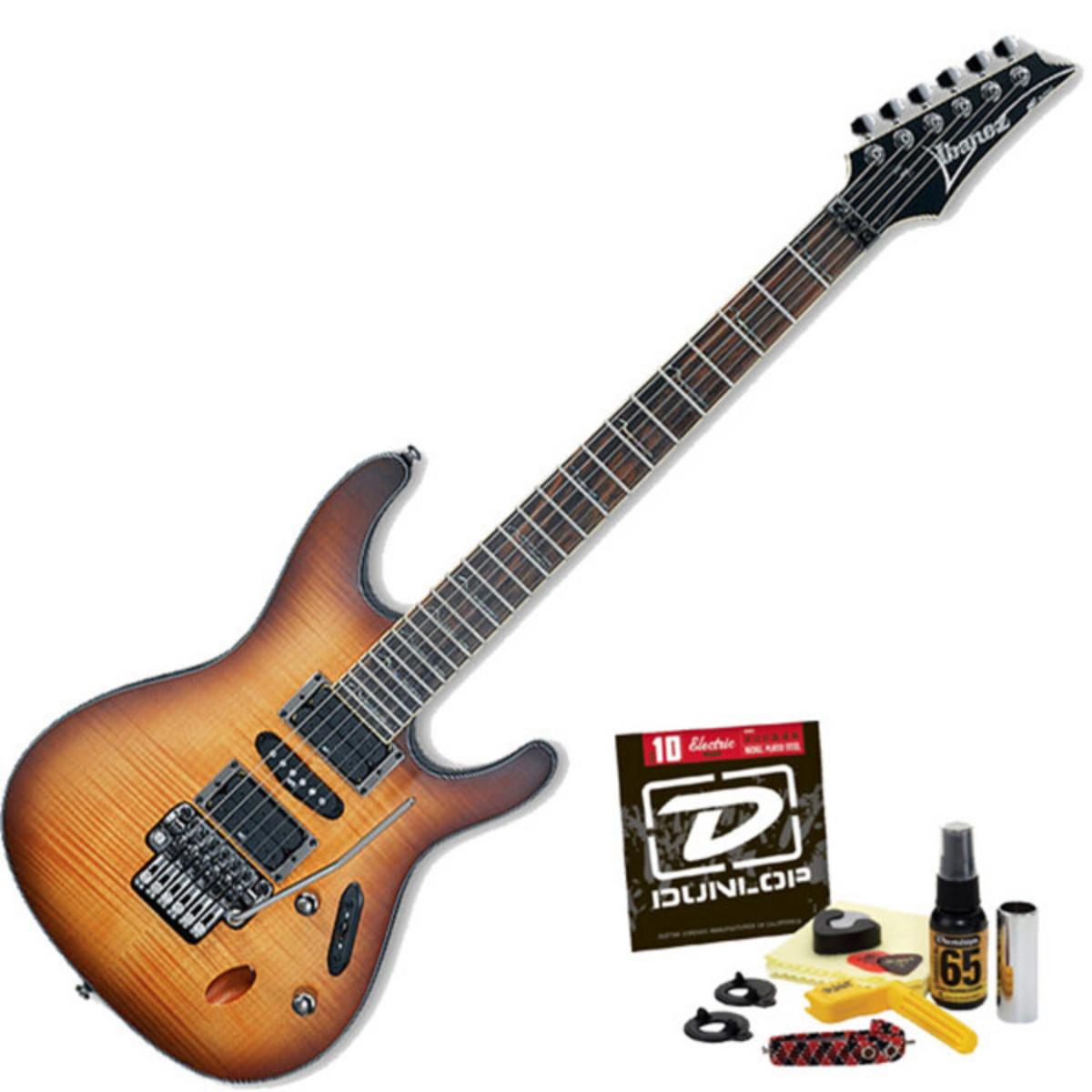 guitare lectrique discibanez s770fm plat antique. Black Bedroom Furniture Sets. Home Design Ideas