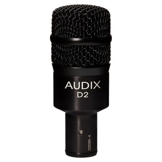 Audix D2 High Gain Percussion Dynamic Microphone