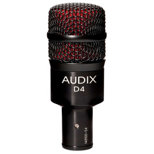 Audix D4 Low-Frequency Dynamic Instrument Microphone