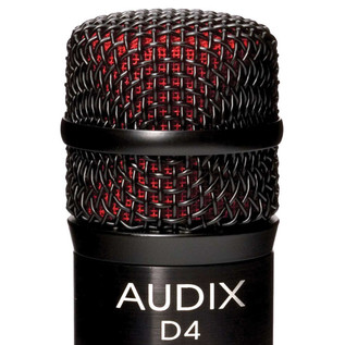 Audix D4 Low-Frequency Dynamic Instrument Microphone Detail