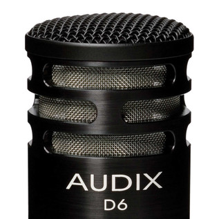 Audix D6 Kick Drum Dynamic Microphone Detail