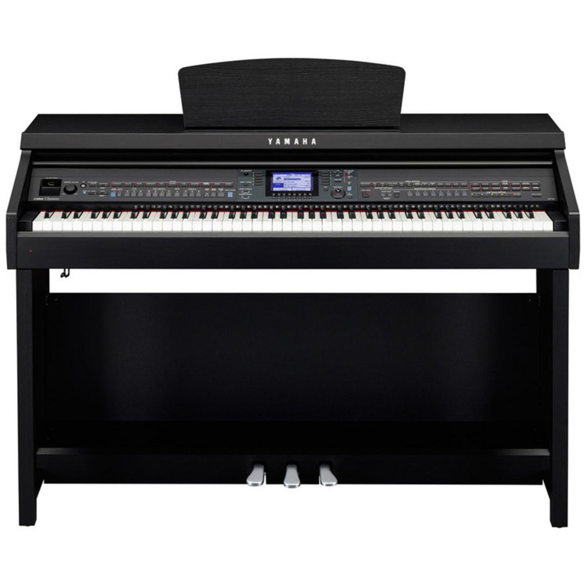 Yamaha clavinova cvp601 piano digital nogal negro en for Yamaha clavinova clp 110