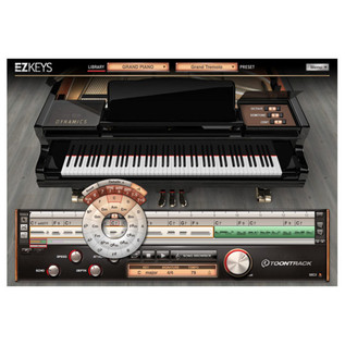 Toontrack EZkeys Virtual Grand Piano Software