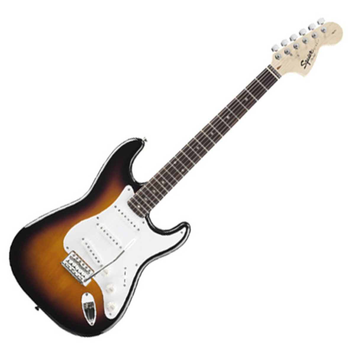 squier by fender affinity stratocaster pack with 10w amp sunburst at. Black Bedroom Furniture Sets. Home Design Ideas