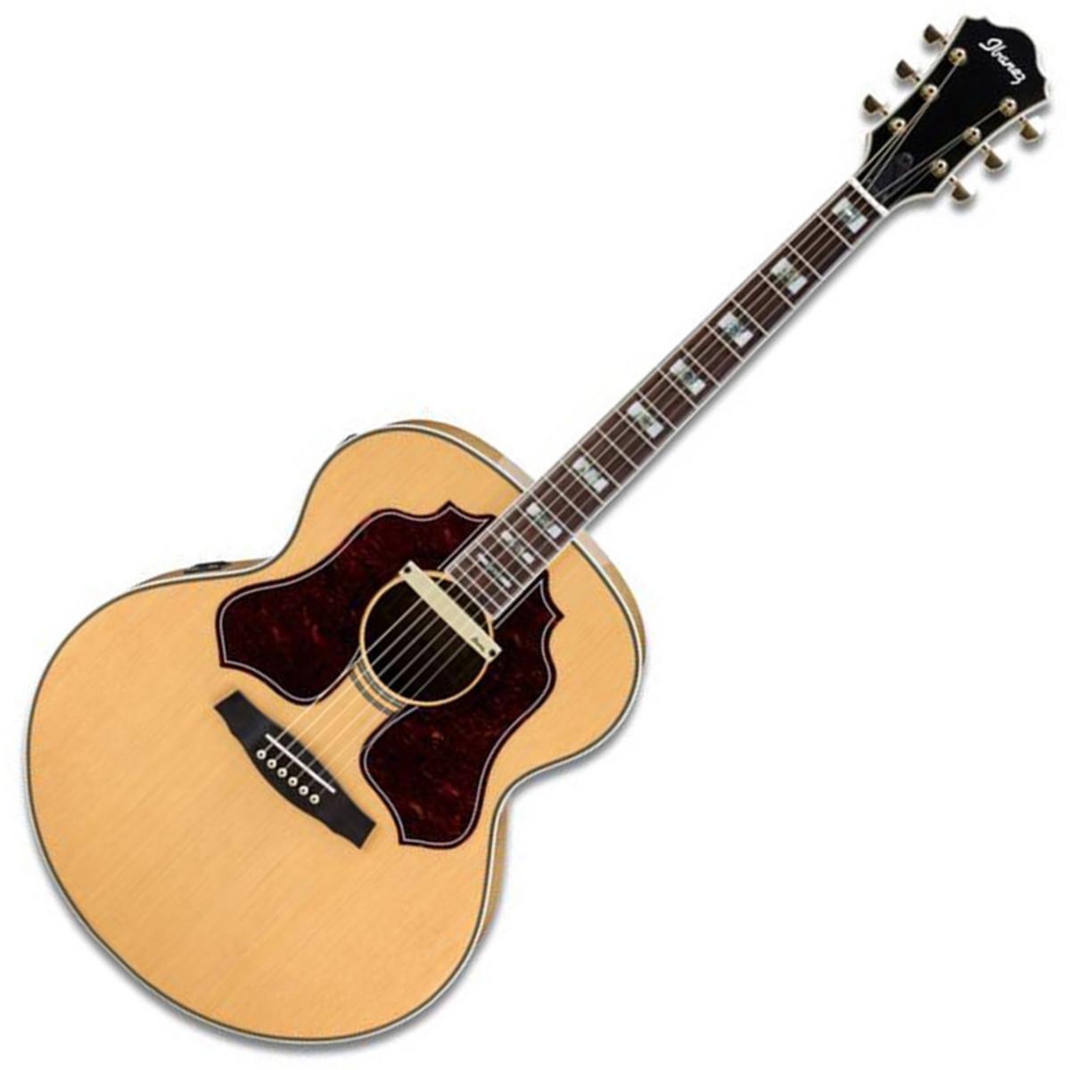 puis sage ibanez sge530 jumbo electro acoustique guitare. Black Bedroom Furniture Sets. Home Design Ideas