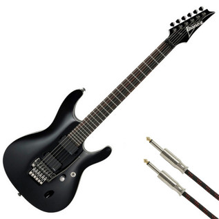 Ibanez S920E-BK S Series Premium Electric Guitar, Black + FREE Gift