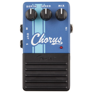 Fender Chorus Guitar Effects Pedal - Top