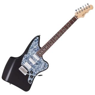 Fret King Black Label Ventura Electric Guitar, Gloss Black