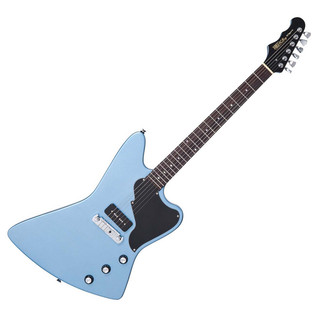 Fret King Black Label Esprit I Electric Guitar, Gun Hill Blue