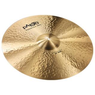 Paiste Formula 602 Modern Essentials Ride Cymbal 20