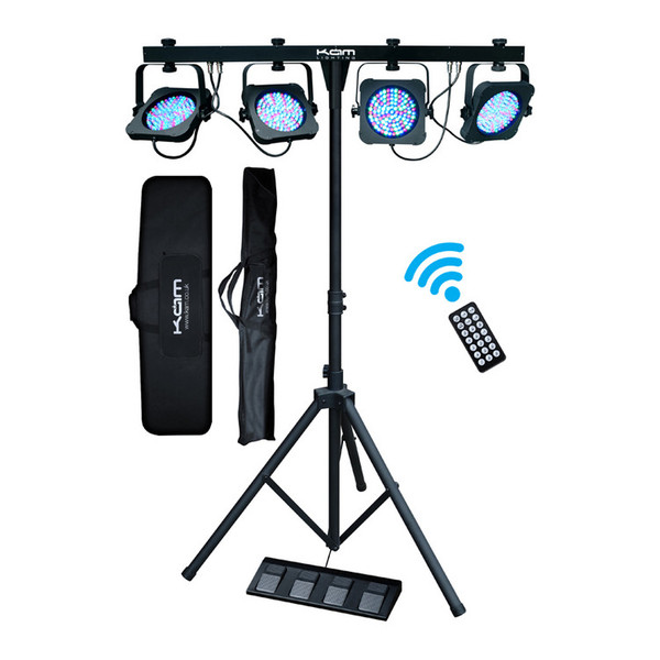 KAM LED ParBar REM 1 Lighting Package