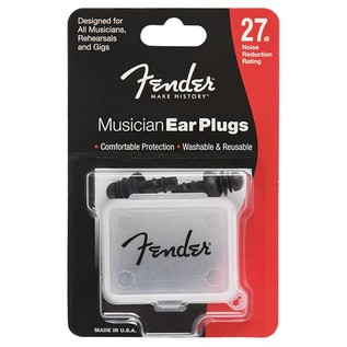 Fender Musician Series Black Ear Plugs