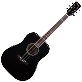 Ibanez PF15 Acoustic Guitar, Black - main