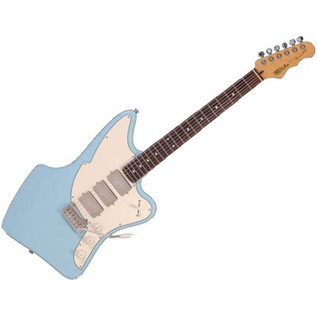Fret King Black Label Ventura Electric Guitar, Laguna Blue - main