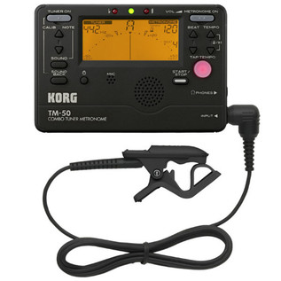 Korg TM-50C Combo Tuner, Metronome and Contact Microphone