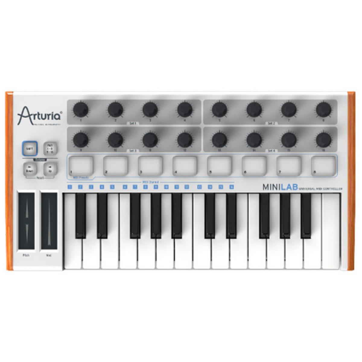 Image of Arturia MiniLab Universal MIDI Controller