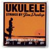 Jim Dunlop Ukulele Strings, Clear Nylon, Soprano Pro