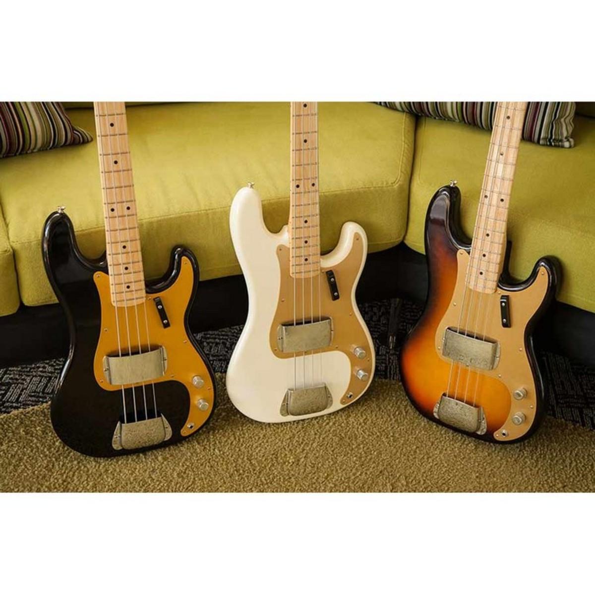disc fender american vintage 58 precision bass black at. Black Bedroom Furniture Sets. Home Design Ideas