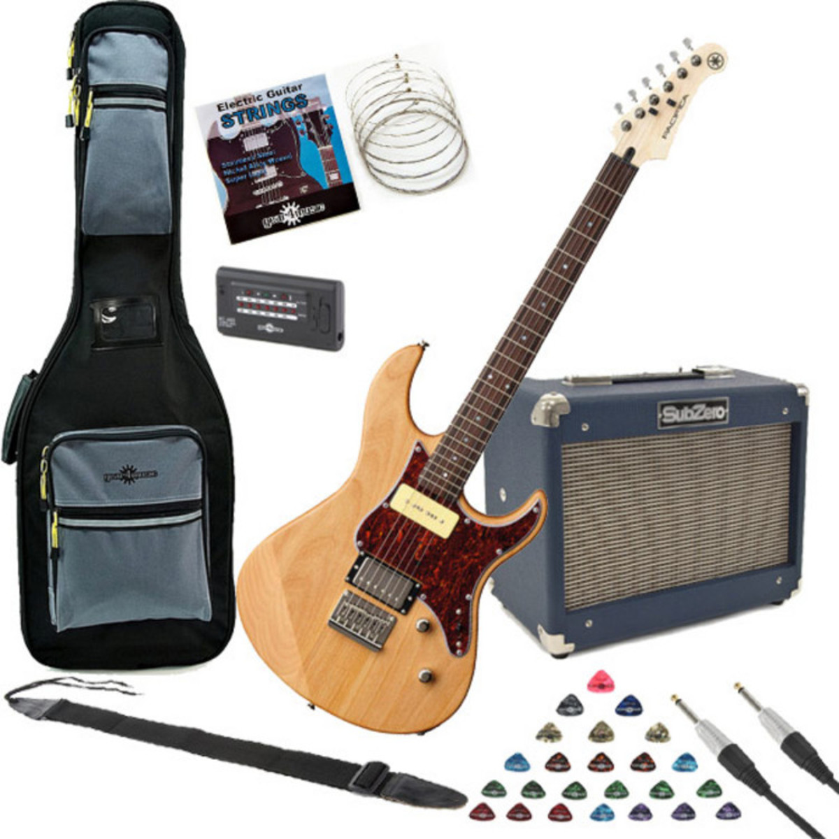yamaha pacifica 311h electric guitar natural w subzero 10w amp pack at. Black Bedroom Furniture Sets. Home Design Ideas