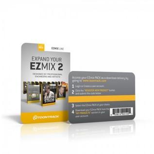 Toontrack EZmix 2 Generic Preset Pack (Serial Number Card)