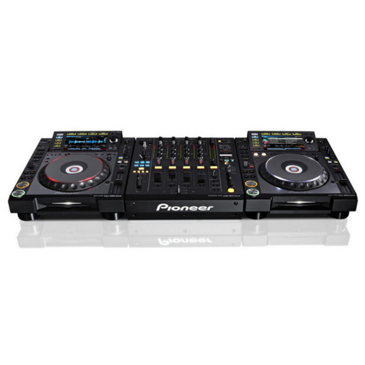 Pioneer CDJ-2000 Nexus Deck Multi-Reproductor Digital Para