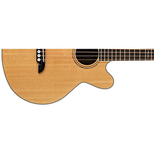Alvarez AB60CE Cutaway Electro Acoustic Bass Guitar, Natural Lower Body