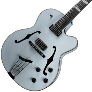 Hofner Gold Label New President Archtop Electric Guitar, Light Blue