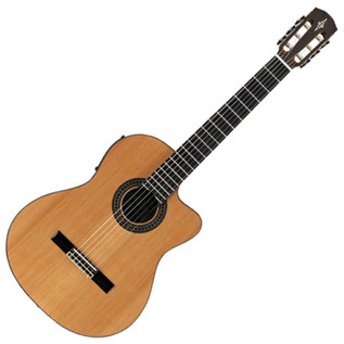 Alvarez AC65CE Electro Acoustic Classical Guitar, Natural