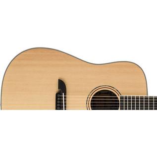 Alvarez AD60 Dreadnought Acoustic Guitar, Natural Upper Body