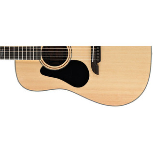 Alvarez AD60 Dreadnought Acoustic Guitar, Natural, Left Handed Lower Body
