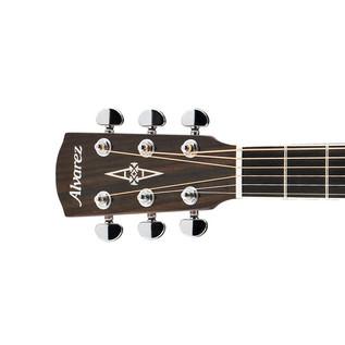 Alvarez AD60 Dreadnought Acoustic Guitar, Natural, Left Handed Headstock