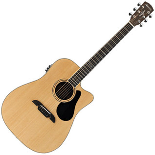 Alvarez AD70CE Dreadnought Electro Acoustic Guitar, Natural