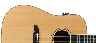 Alvarez AD70CE Dreadnought Electro Acoustic Guitar, Natural Upper Body