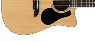 Alvarez AD70CE Dreadnought Electro Acoustic Guitar, Natural Lower Body