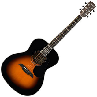 Alvarez AF60 Folk OOO Acoustic Guitar, Sunburst