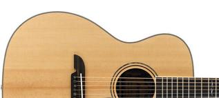 Alvarez AF70 Folk OOO Acoustic Guitar, Natural Upper Body